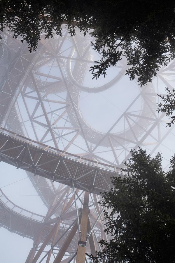 Гигантская горка длиной 101 метр Чехия, гигантская горка, Лига Инженеров, архитектура, гигантизм, горка, длиннопост, видео