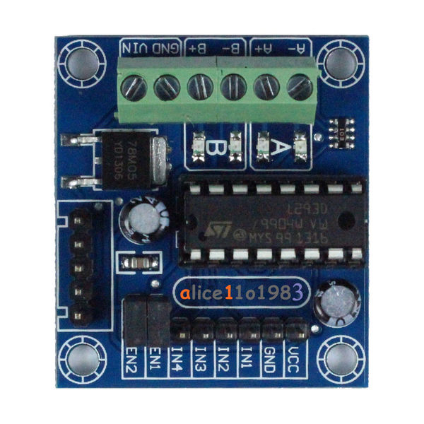 Dual VNH2SP30 Arduino Monster Moto Shield