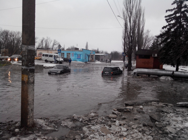 Зимние ккупания Новочеркасск, Погода, Вода, Видео