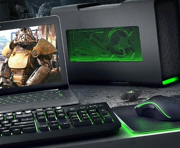 Первая внешняя видеокарта Razer, Технологии, Внешняя видеокарта, Длиннопост