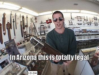 В Аризоне это абсолютно легально...