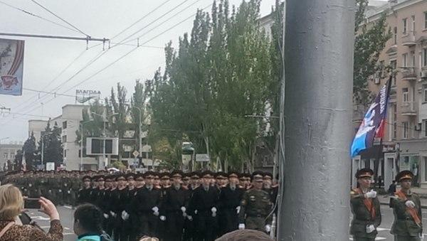 Репетиция парада в Донецке. ДНР, Донбасс, Донецк, Парад, Не Украина, Длиннопост, Политика, Украина