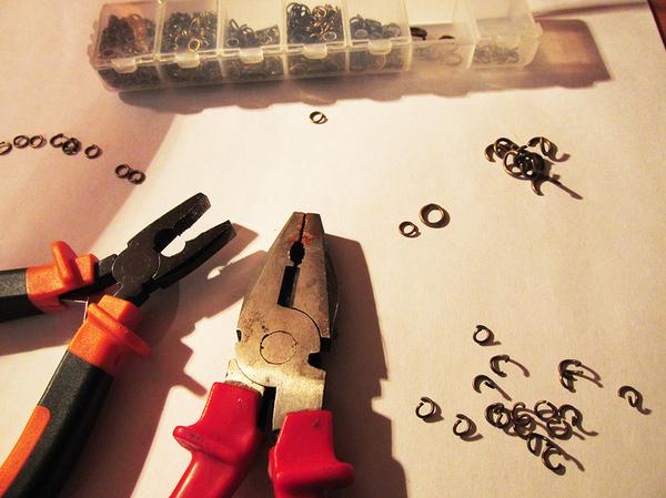 Мини-мк нового плетения Своими руками, Плетение, Мастер-Класс, Длиннопост