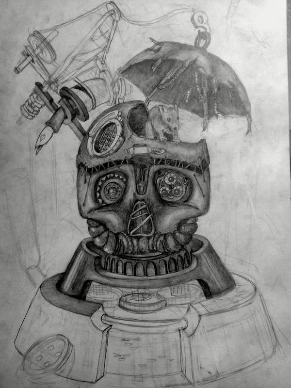 Рисовалка Рисунок карандашом, Фантазия, Мышь, Длиннопост