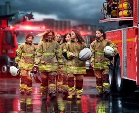 Порно фото пожарного девушки