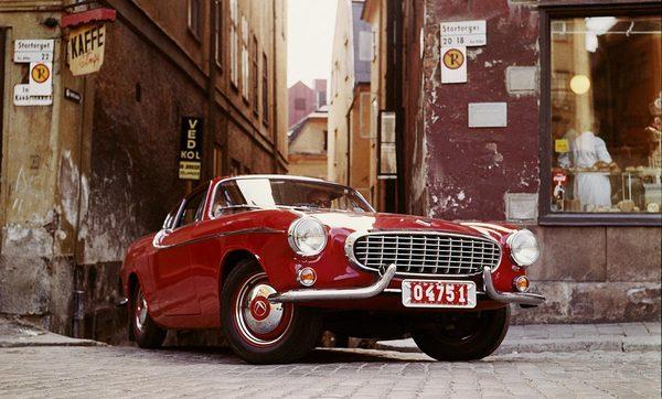 Volvo P1800. Модель 1961 года Volvo, P1800, Авто, Ретроавтомобиль