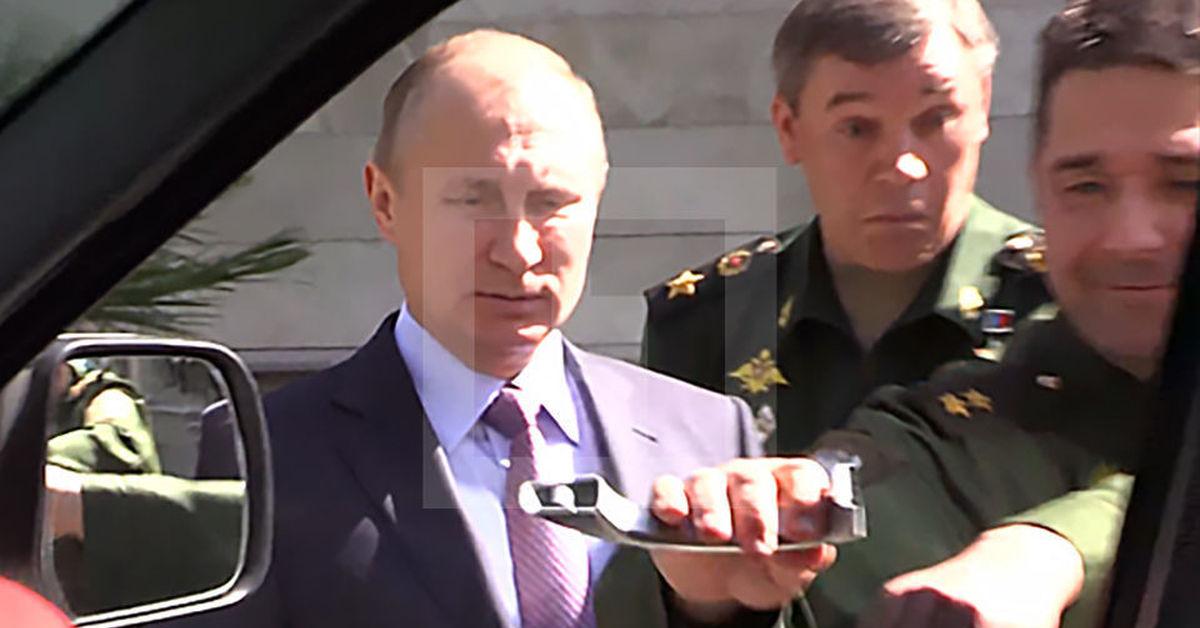 Проект «Кортеж»: Путин приехал на инаугурацию на ...