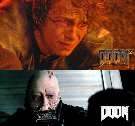 DOOM 3 vs DOOM 2016