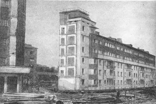 Как раньше передвигали дома в Москве История, Архитектура, Москва, Передвижение домов, Редкие фото, Интересное, Инженерия, Длиннопост