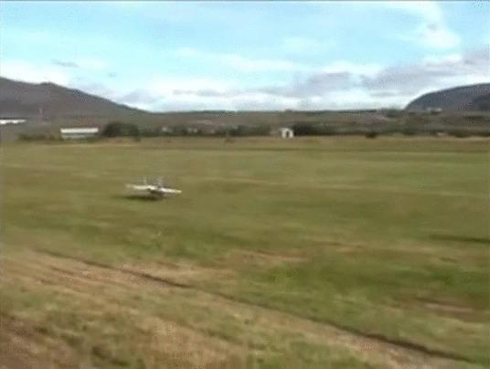 Чуть не случилась трагедия на авиашоу, но пилоту удалось избежать трагедии Гифка, Авиашоу, Авиамоделизм