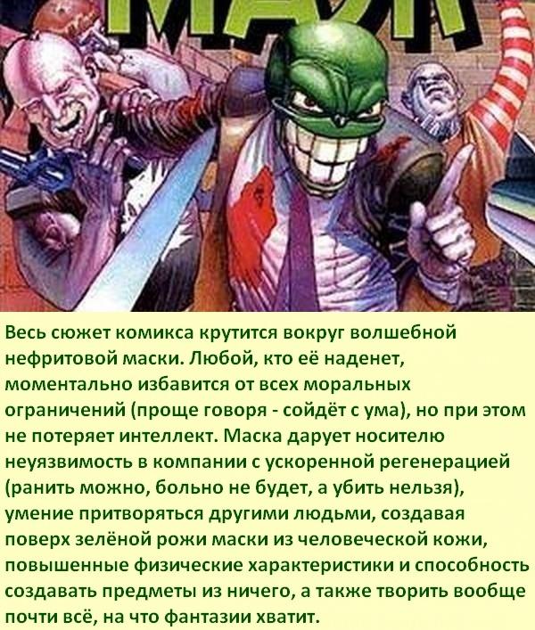 Факты об антигероях: Маска Супергерои, Суперзлодеи, Антигерои, Маска, Комиксы-Канон, Длиннопост