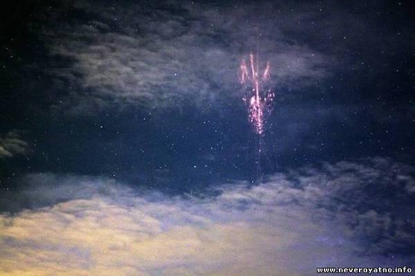 Спрайты. Необычные молнии. Интересное, Молния, sprite, редкие молнии, атмосферные явления, видео, длиннопост