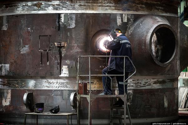«Атоммаш» — производство ядерных реакторов для АЭС (осторожно, много фото) ч.1 Фото, Длиннопост, Промышленность, Атоммаш, Ядерный реактор