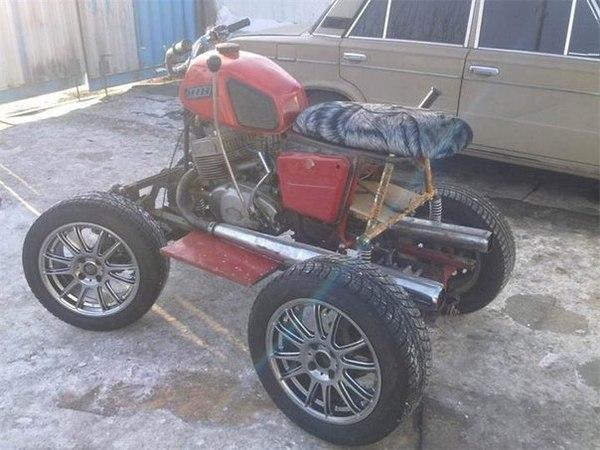 Квадроциклы своими руками из ижа