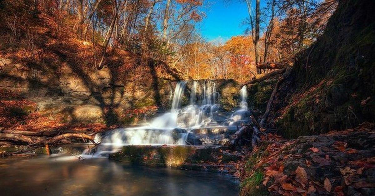Фото кравцовских водопадов