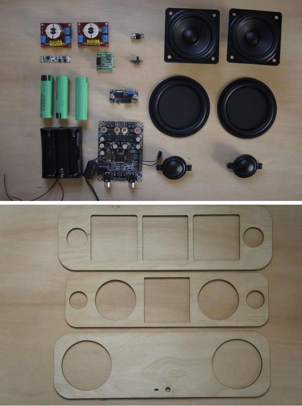 Bluetooth-колонка на 40Вт своими руками (оченьдлиннопост) дерево, Своими руками, звук, колонки, музыка, видео, длиннопост
