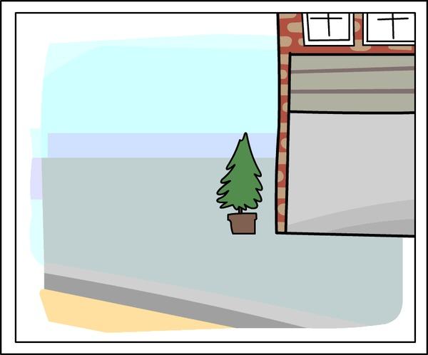 Ворота. (Анимированный комикс №8) The Pigeon Gazette, Комиксы, Анимация, Гифка
