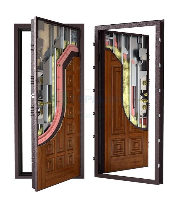 металлическая дверь защита