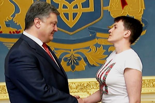 Получи, фашист, гранадю Политика, Украина, Савченко, Юмор, Длиннопост