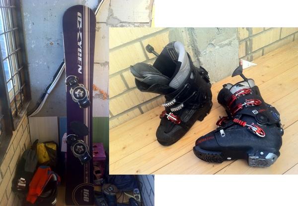 Как я с горных лыж на сноуборд мигрировал Зима, Графоманство, Горные лыжи, Сноуборд