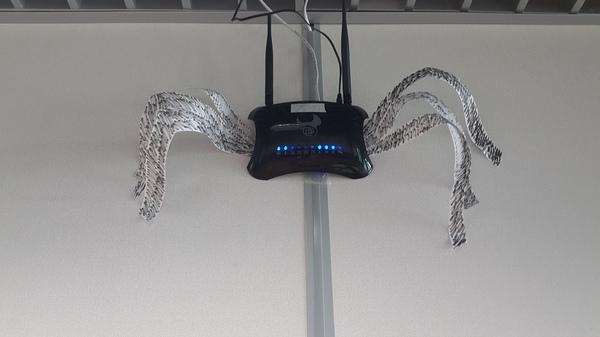 Если плохо работает интернет - ЕСТЬ РЕШЕНИЕ!  Супер безопасная паучья wifi сеть. Стабильность работы 100%! Прикол, Картинг