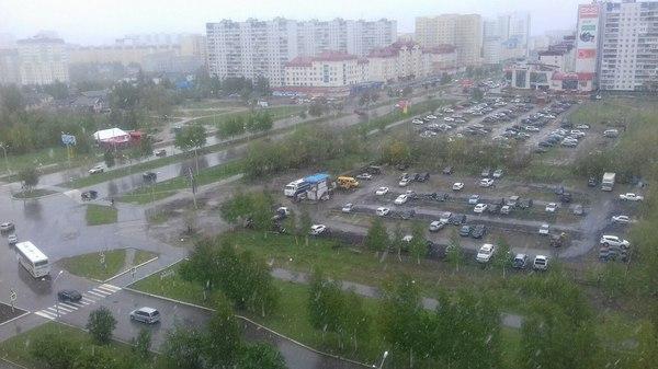 Нижневартовск встречает лето.