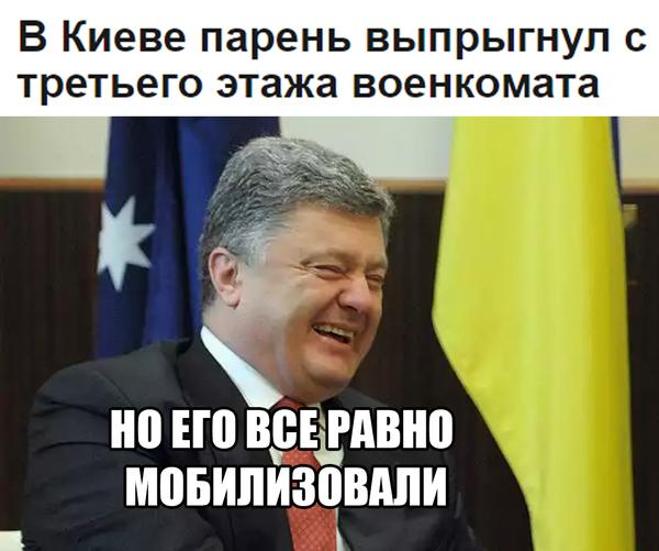Типичная Украина Политика, Украина, Порошенко, Армия, Мобилизация, Юмор, Прикол