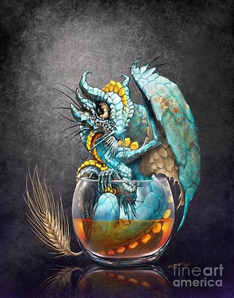 картинки милые дракончики