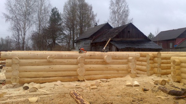 Лига строителей! Строительство, Дом, Баня, Своими руками, Сруб