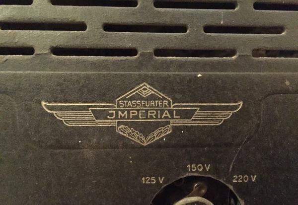 Есть ли ценность? раритет, радиоприемник, антиквариат, imperial stassfurter, германия, длиннопост