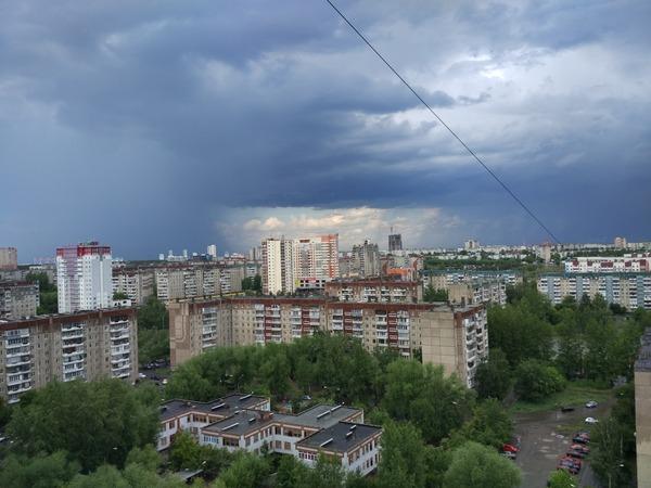 Врата.. Челябинск, Xiaomi, Фото, Дождь
