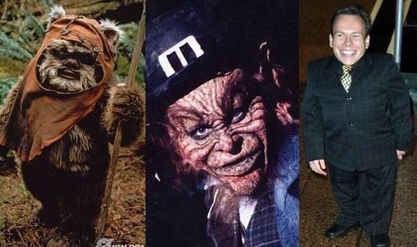 """Уорвик Дэвис - """"Звездные войны"""" (1983) и """"Лепрекон"""" (1992)."""