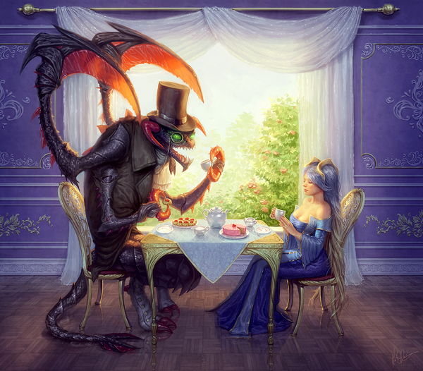 Чаепитие с Чо'Гатом и Соной
