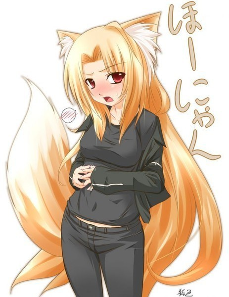 аниме девушки лисы картинки