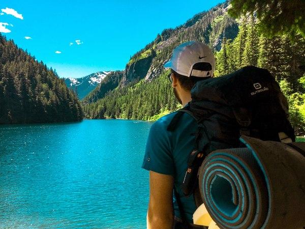 Озеро Линдэман, Канада Горы, Природа, Пейзаж, Фото, Озеро, Путешествия, Туризм, Канада