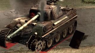Надень каску, позаботься о своей безопасности! Men of war: Assault Squad 2, Гифка, Игры, Танки