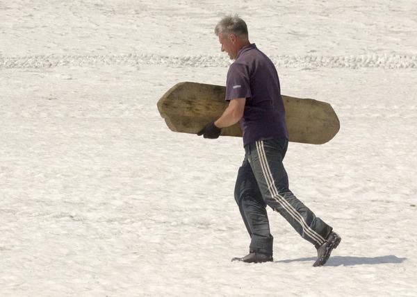 64bf51654172 Слишком олдскульный сноубордист в Приисковом. сноуборд, олдскул