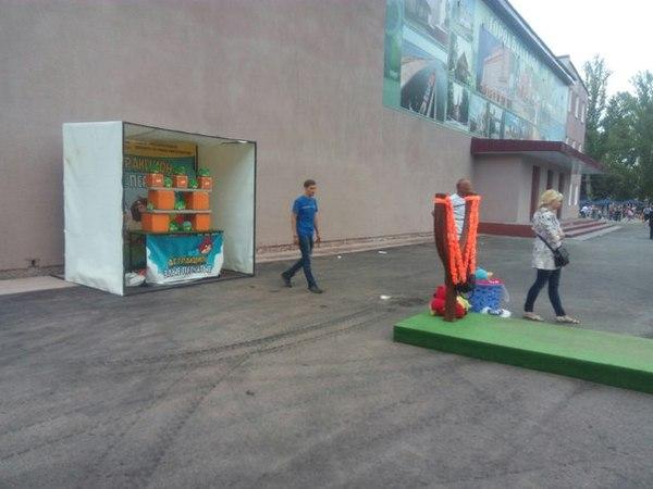 Angry Birds по Балаковски Аттракцион, Балаково, Фестиваль клубники, Моё