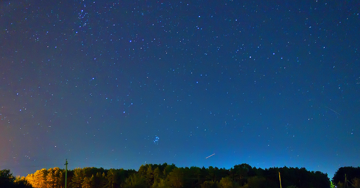 фото звездного неба настройки снимка это оказалось