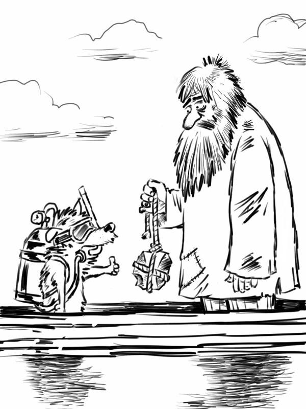 """""""Муму"""": Альтернативная концовка Моё, Скетчбук, Android, Рисунок, Муму, Карикатура"""