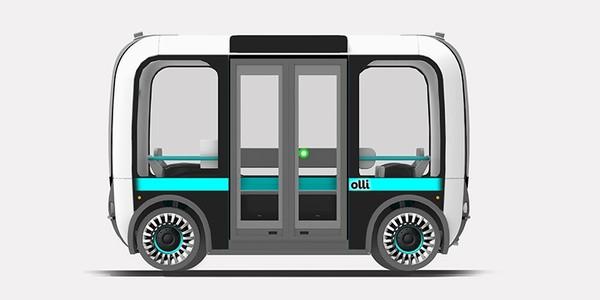 Olli — напечатанный на 3D-принтере беспилотный автобус, наделённый интеллектом IBM Watson Технологии, Наука, Беспилотник, Автобус, 3d печать, США, Америка, Длиннопост