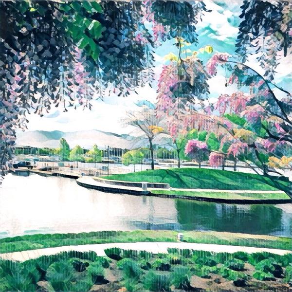 Мир через призму Призма, Prisma, Пейзаж, Цветы, Искусство, Картина, Фото, Девушки, Длиннопост