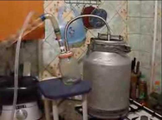 Холодильник к самогонному аппарату своими руками видео как подключить самогонный аппарат к водопроводу видео