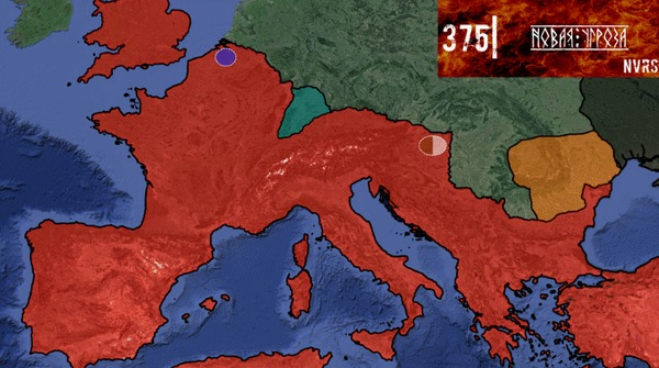 Европа в огне (впн2) История, Переселение, Готы, Римская империя, Аланы, Война, Варвар, Гифка, Длиннопост