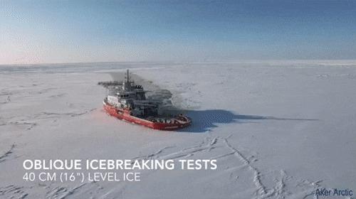 Как дрифтуют полярники