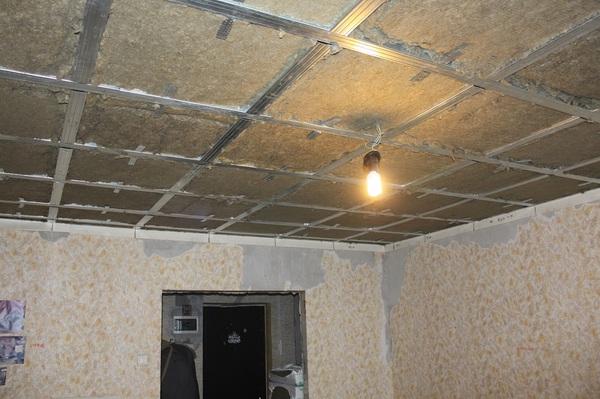 Шумоизоляция потолка в квартире цена за работу