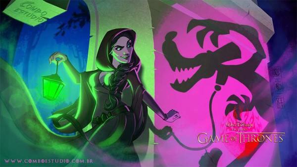 """Еще немного диснеевской """"Игры престолов"""" с Devian Art Игра престолов, DeviantArt, Walt Disney Company"""