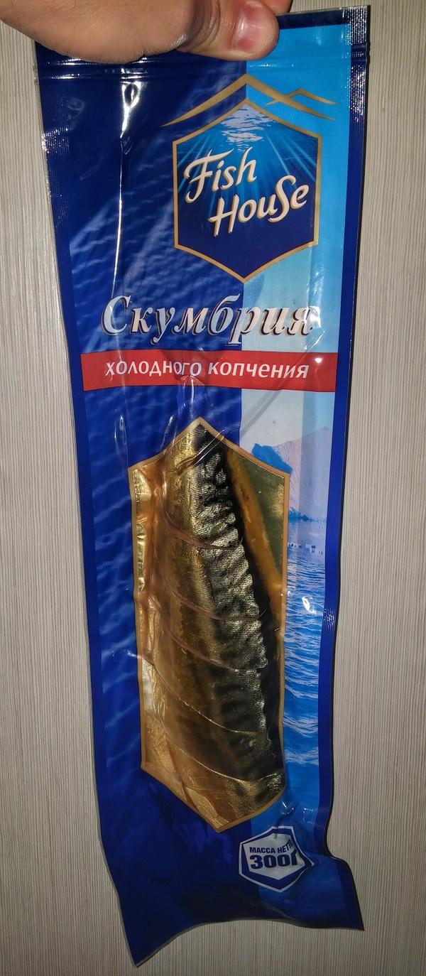 Рыбка на ужин Fishhouse, Скумбрия, Рыба, Паразиты, Червь, Длиннопост, Еда