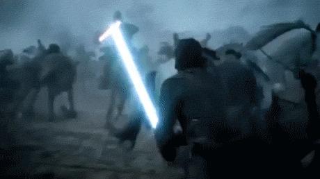 Битва бастардов в стиле Star Wars