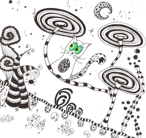 Приключения Кота Митрофана. кот, Комиксы, рисунок